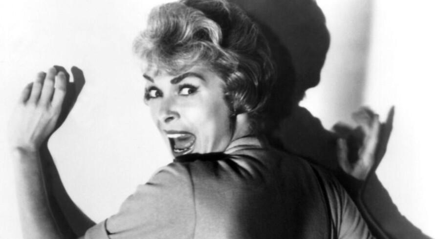 Scene fra Alfred Hitchcock s film »Psycho« med skuespilleren Janet Leigh i rollen som Marion Crane. Det er rollen som Janet Leigh, Scarlett Johansson skal spille.