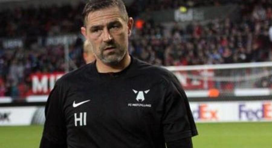 FC Midtjyllands nu tidligere målmandstræner, Henrik Ipsen