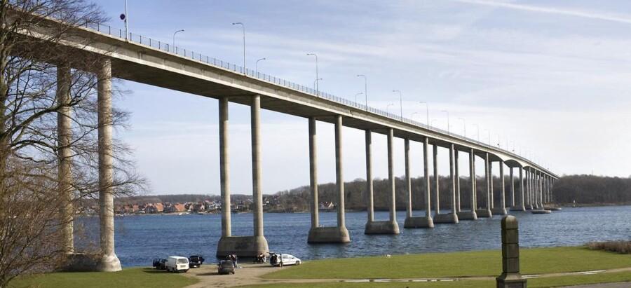 Svendborgsundbroen er genåbnet efter en påsejling tidligere på dagen.