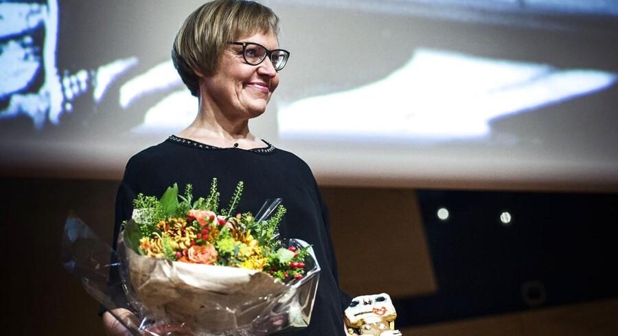 LIsbeth Høstgaard Møller modtog Tine Bryld Prisen i DR Koncerthuset for sin indsats for Kvisten Viborg, der hjælper personer, som har været udsat for seksuelle overgreb.
