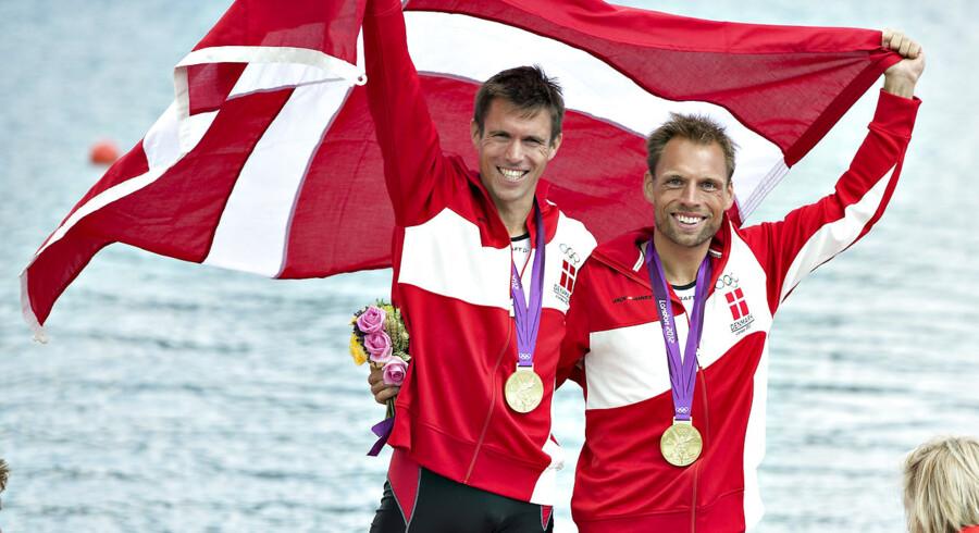 Rasmus Quist og Mads Rasmussen vandt guld ved OL i London i 2012. Endnu har de chancen for at komme med til OL i Rio de Janeiro til næste år, men så skal letvægts-dobbeltsculleren til at præstere.