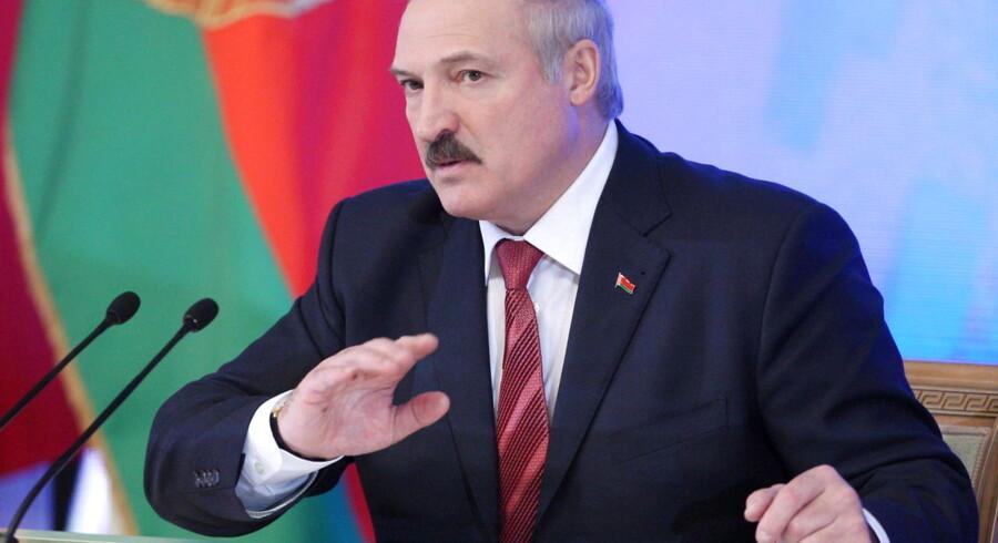 Europas sidste diktator, Aleksandr Lukasjenko.