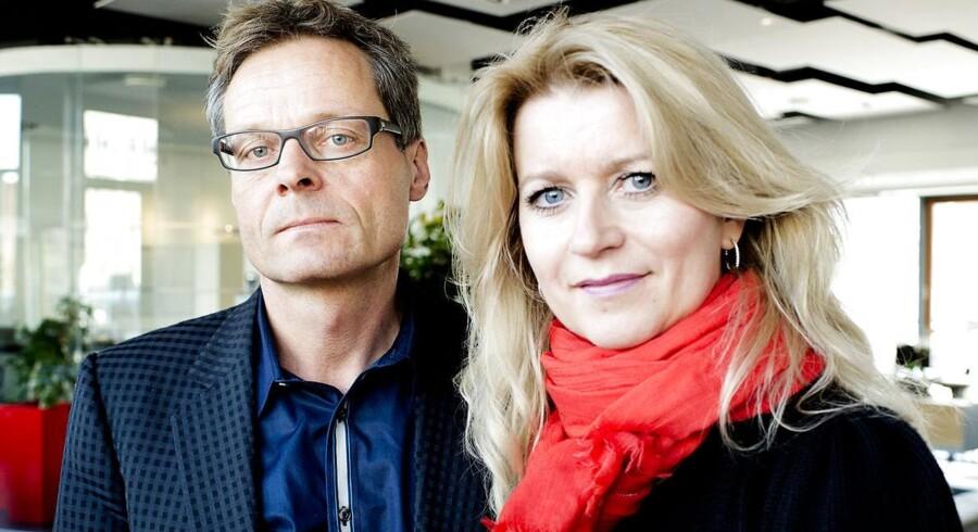 Peter Norvig og Hanne Nørrisgaard.