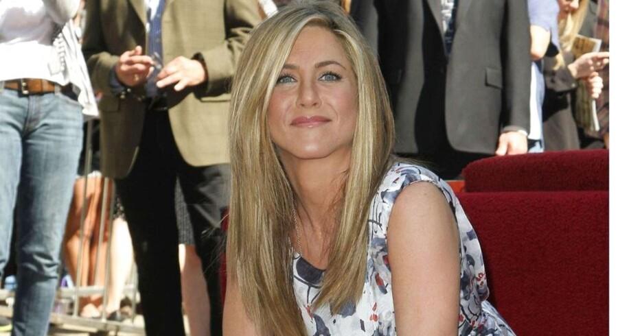 Jennifer Aniston fik tildelt en Stjerne på Hollywood Walk of Fame d. 22 februar.