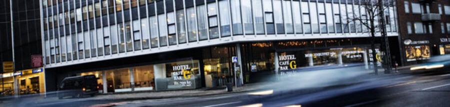 Denne hotelejendom i Nyropsgade var fredag under hammeren