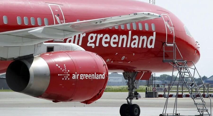 Air Greenland sidder i dag tungt på de direkte ruter til Danmark.