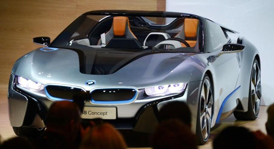 BMW sælger godt for tiden - men det er ikke de private forbrugere, der holder gang i efterspørgslen.