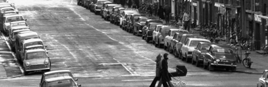 Under oliekrisen i 1973 blev en række søndage erklæret bilfrie.