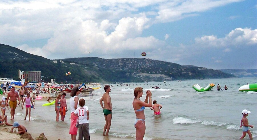 Bulgarien er blandt de nye ruter, som Spies flyver til fra provinslufthavnene. Her er det Albena-stranden ved Sortehavet i Bulgarien.