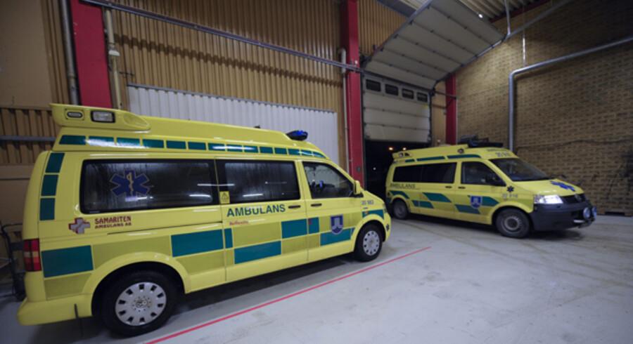 Svenske Samariten vandt sidste år kørslen med ambulancer i dele af hovedstaden, hele Region Sjælland og Region Midtjylland.