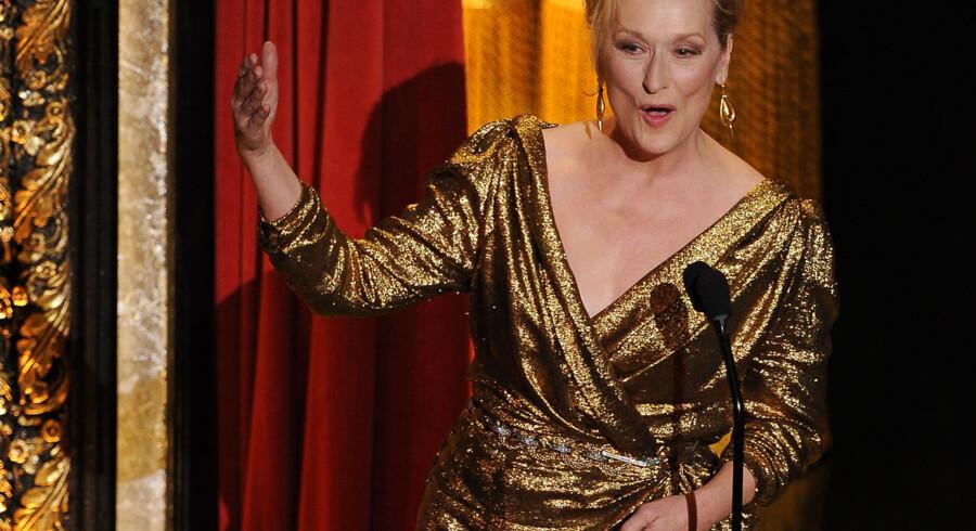 Hun har været nomineret 17 gange. Men før nattens fest havde Meryl Streep ikke vundet filmverdenens fineste pris siden 1982.