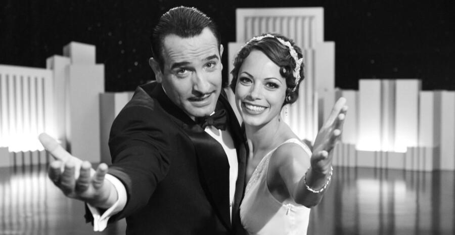 """Den franske film """"The Artist"""" vandt i flere kategorier - som den første stumfilm i 80 år!"""