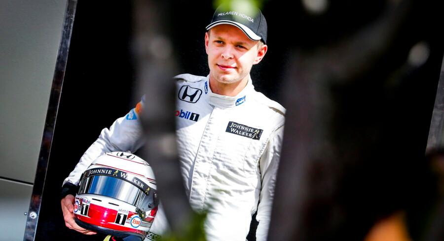 Sådan her skal Kevin Magnussen køre, hvis han får et sæde i Formel 1 i den kommende sæson.