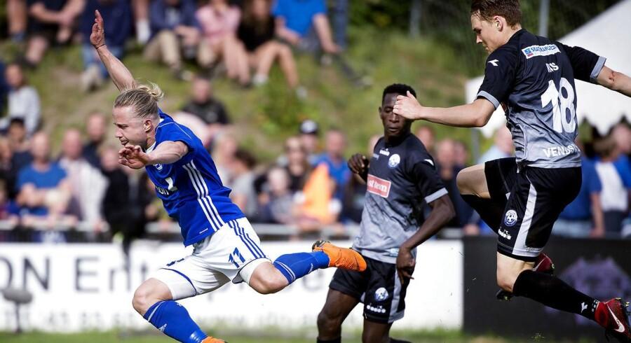 Den talentfulde forsvarsspiller Kristian Riis bliver udlejet fra FC Midtjylland til Esbjerg resten af sæsonen.