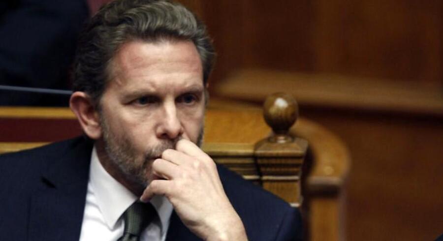 Grækenlands kultur- og turistminister Pavlos Geroulanos.