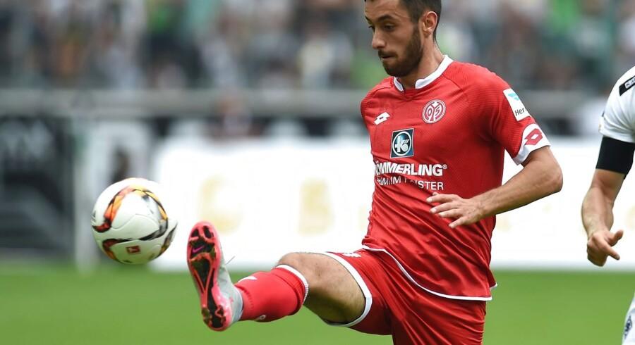 Yunus Malli scorede hatrick mod Hoffenheim.