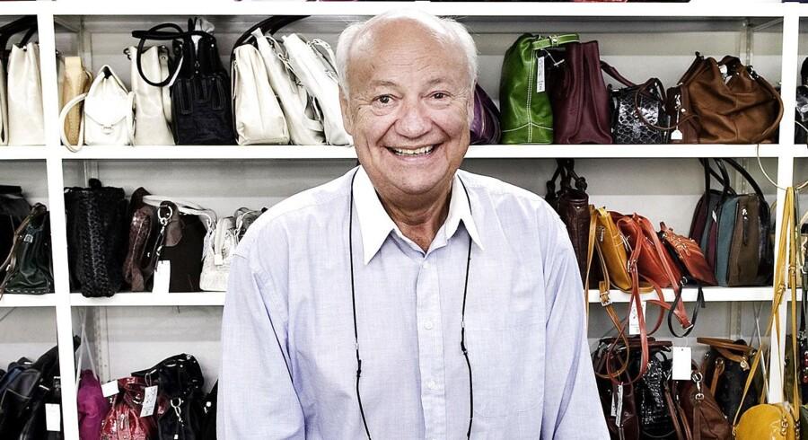 Harald Nielsens firma importerer læderprodukter fra Italien, og det har netop vundet en retssag mod Gucci.