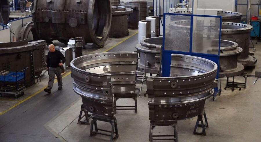 En tyske industrigigant Siemens