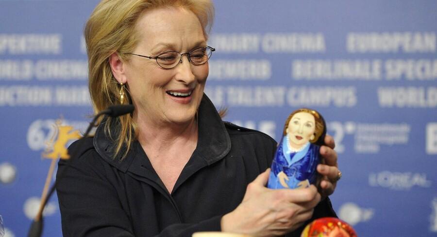 Meryl Streep fik en russisk babuschka-dukke af en russisk journalist under pressemødet på Berlinalen. Dukken indeholdt indvendigt figurer forestillende skuespilleren i forskellige af hendes roller.