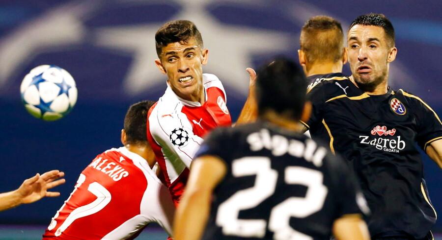 En af aftenens største overraskelser var i Zagreb, hvor Arsenal tabte med 1-2.