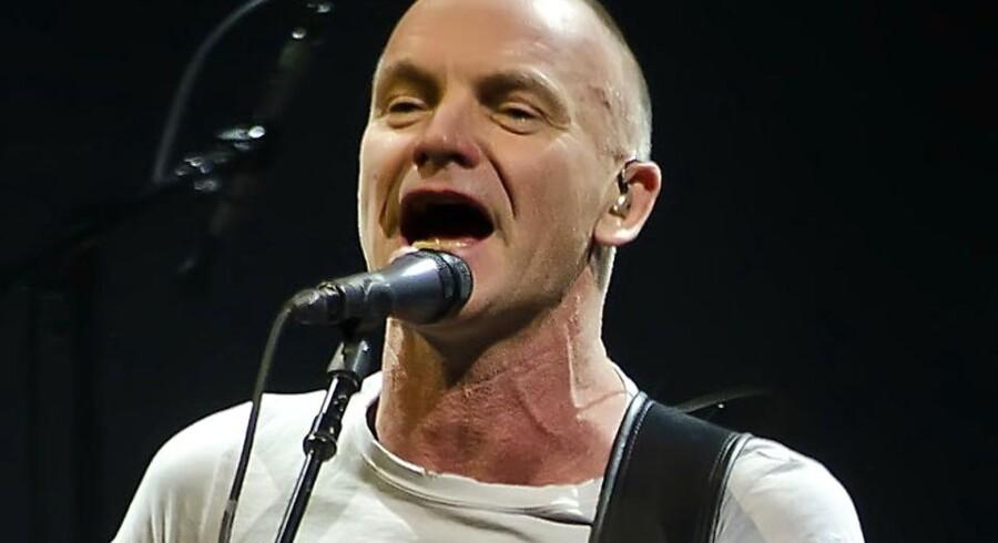 Koncert med Sting i Falconer Salen mandag 13. februar 2012.