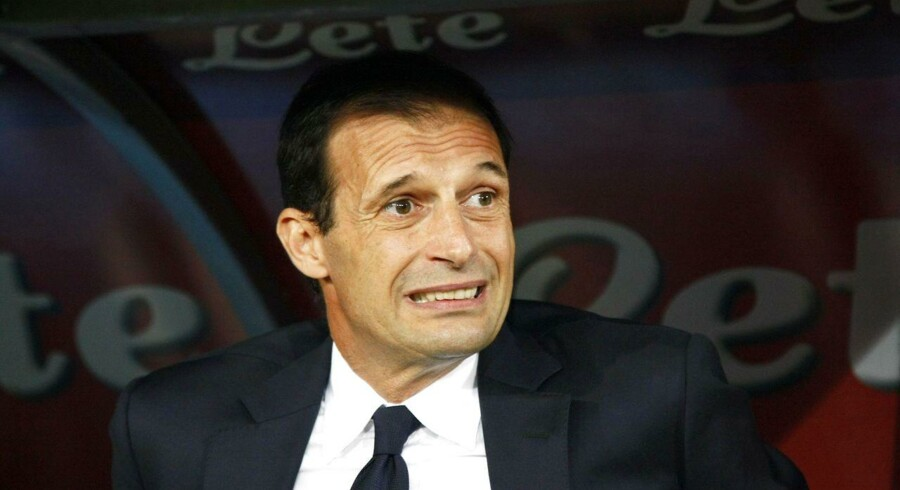 Juventus' træner, Massimiliano Allegri, må erkende, at mestrene er inde i en stor krise.