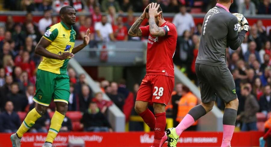 Danny Ings græmmer sig mod Norwich