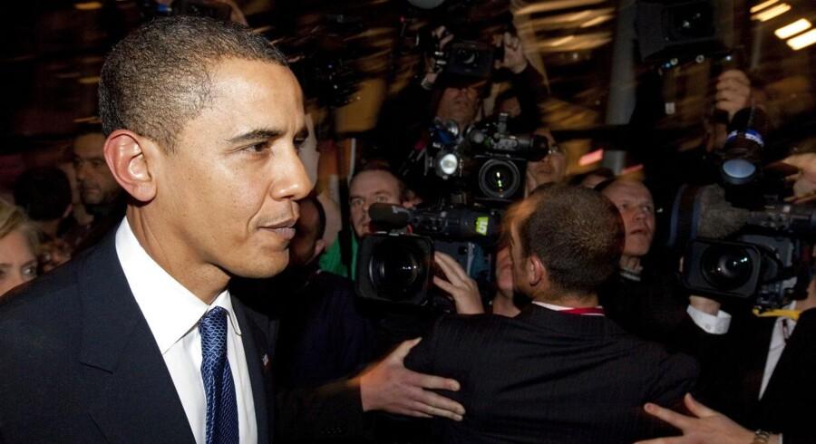 Obama da han var i Danmark til COP 15