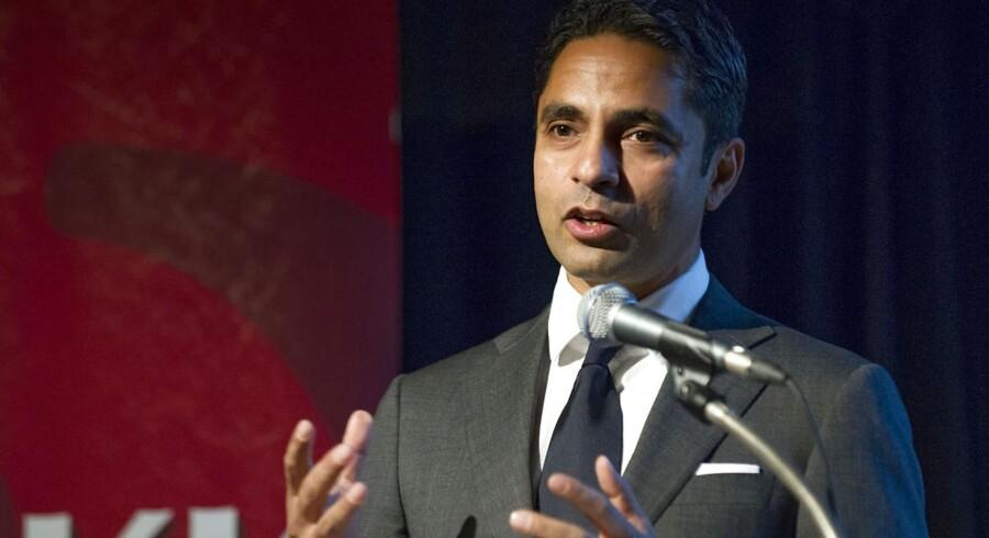 Manu Sareen (R) er både minister for nordisk samarbejde og minister for ligestilling og kirke.