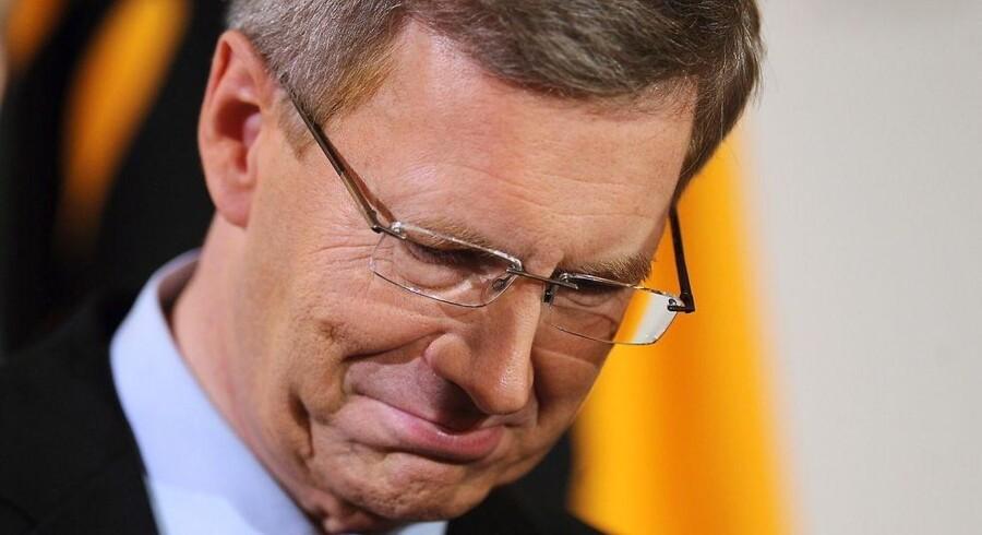 Christian Wulff, den tiende statschef siden 1949, meddelte kort efter klokken 11, at han nedlægger sit embede.