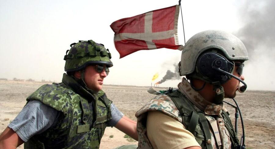 En ny meningsmåling viser, at tre ud af fire danskere er klar til at sende danske soldater til Iran.