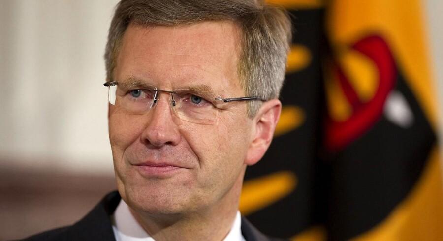 Den tyske præsident Christian Wulff kan blive den første i Tysklands historie, der trækker sig fra embedet.