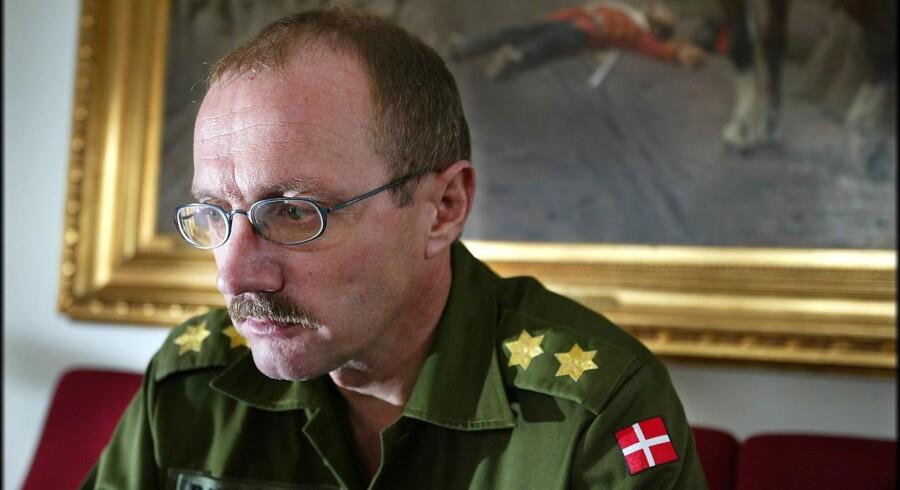 Den daværende chef for Hærens Operative Kommando (HOK), Poul Kiærskou.