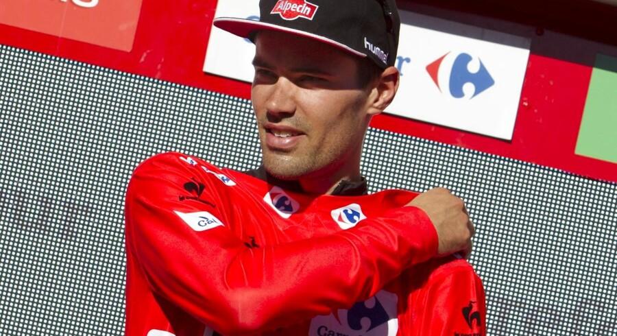 Tom Dumoulin fordoblede sit forspring til Fabio Aru på fredagens tredjesidste etape.