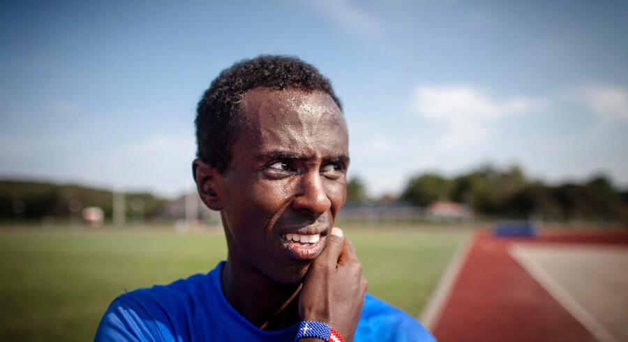 Danmarks stærkeste kort i Copenhagen Half Marathon, Abdi Hakin Ulad, har i år trænet otte uger i højderne i Kenya og er i topform.