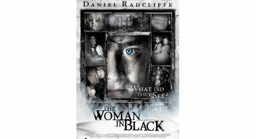 Harry Potter- skuespilleren Daniel Radcliffe i en ny rolle som advokat i gyserfilmen »The Woman in Black«.