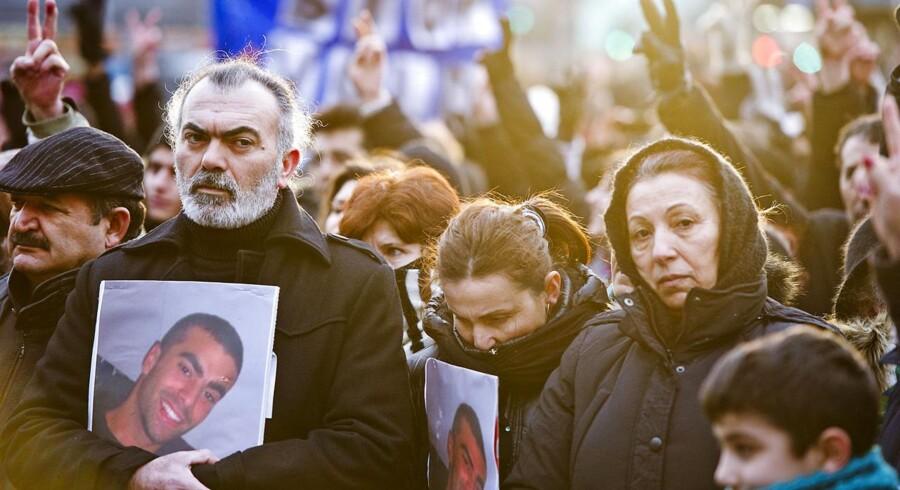 Cem Aydin blev tæsket ihjel på Frederiksberg i 2012. Mange deltog efterfølgende i en fredsmarch.