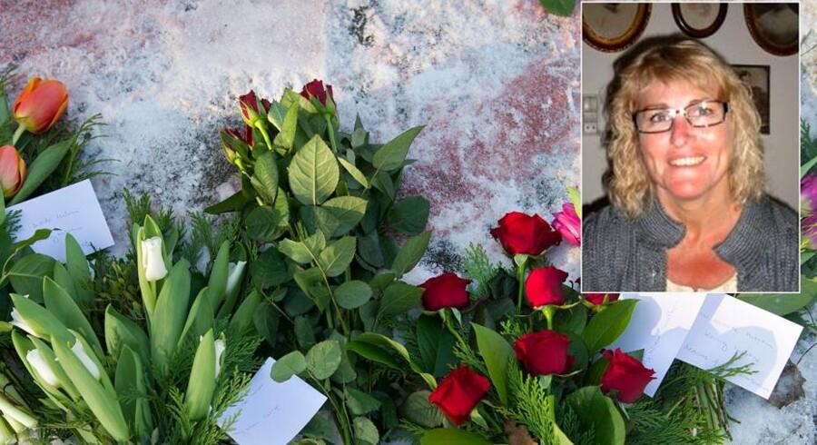 Judy Meiniche Simonsen blev dræbt i sidste uge. Nu har venner af den drabssigtede afleveret hans blodige tøj hos Ekstra Bladet.