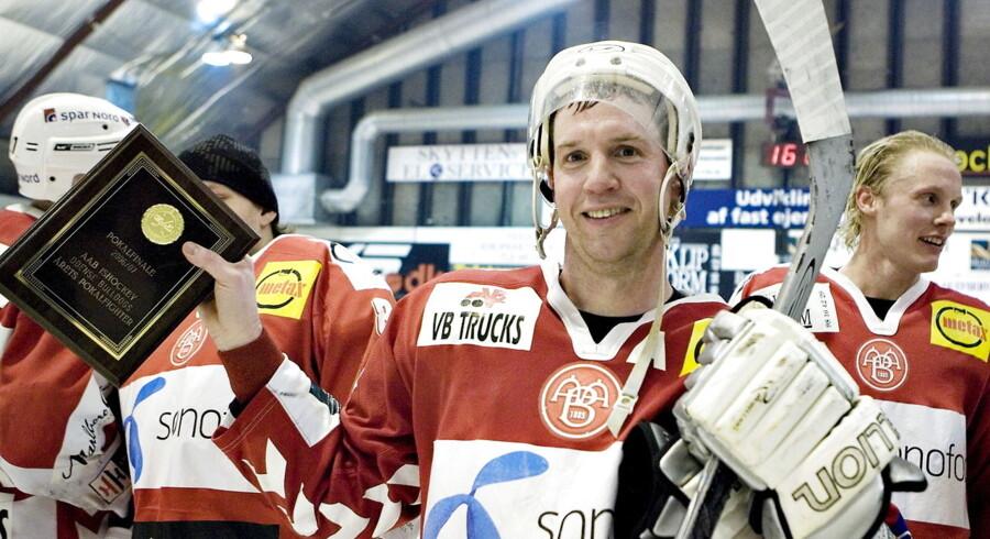 Jens Nielsen blev i 2007 årets pokalfighter for AaB. Nu er han tilbage i Aalborg som cheftræner for Pirates.