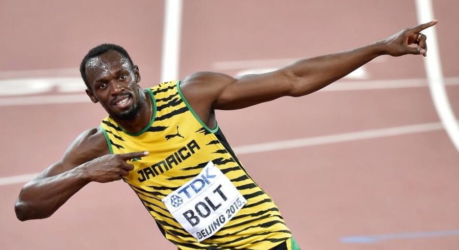 Usain Bolt dropper stævnet i Bruxelles og tager hjem og holder ferie.