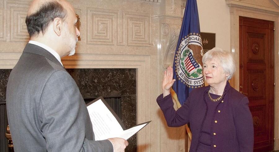 Hvis næstformand Janet Yellen afløser Ben Bernanke som formand for Federal Reserve, kan det trække den amerikanske centralbanks pengepolitik i en endnu mere eksperimentel retning, forudser Nykredit.