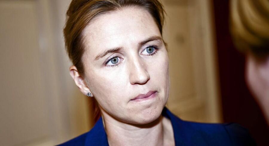 Beskæftigelsesminister Mette Frederiksen vil have fokus på farligt arbejde.