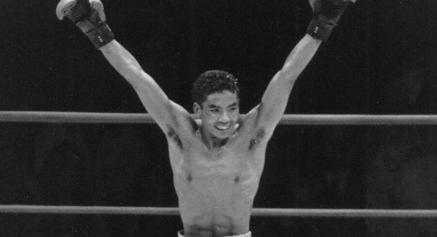Lars Lund Jensen i 1988, da han vandt European Boxing Union som europamester i jr. letvægt.