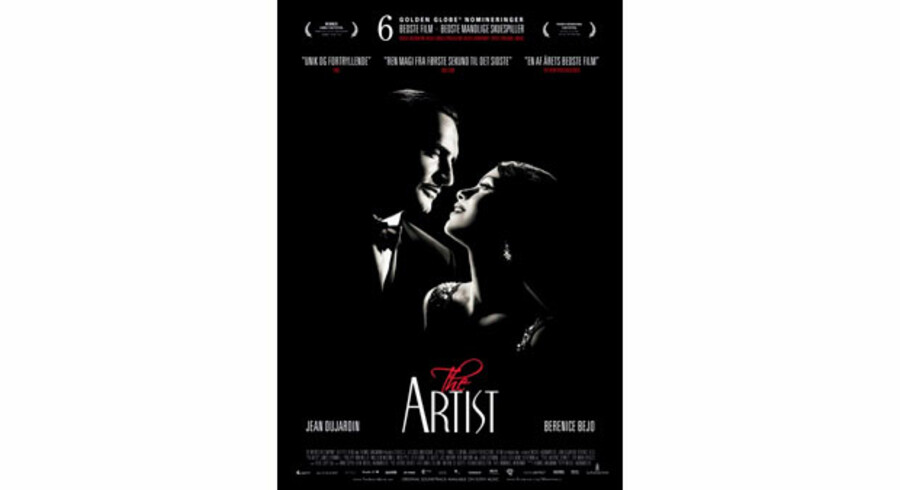 Jean Dujardin og Bérénice Bejo imponerer i »The Artist« – stumfilmen, der har taget en hel verden med storm.