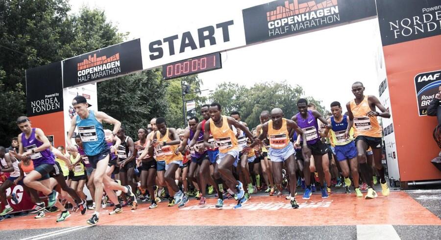 København lægger asfalt til Copenhagen Half Marathon 2015. Det første gadeløb, i verdensklasse, i Norden.