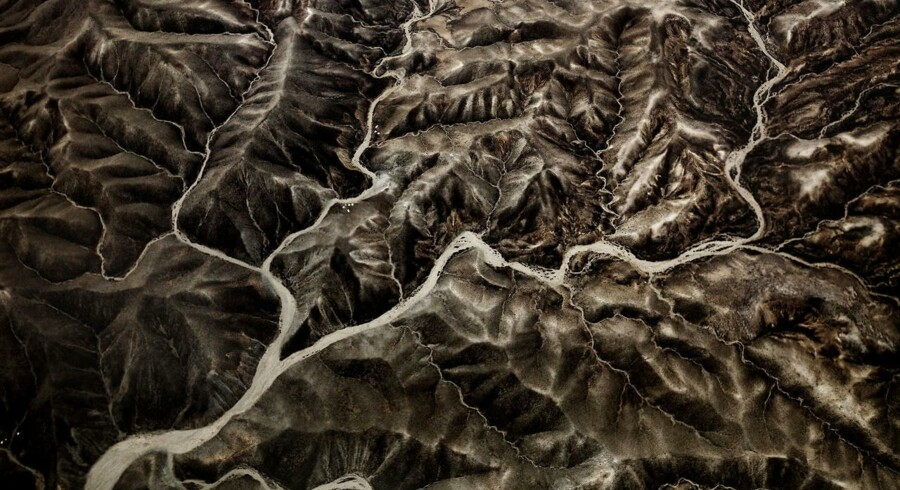 Mountains surrounding Kabul. MADS NISSEN