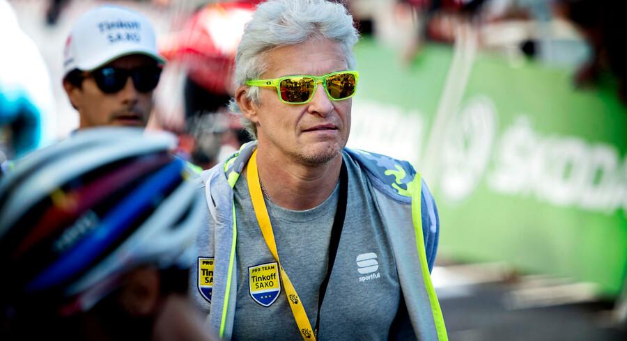 Team Tinkoff-Saxo overvejer at trække holdet ud af Vuelta a España.