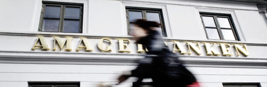 Amagerbanken har kørt med ulovligt likviditetsunderskud i en periode og var tæt på at miste sin tilladelse til at drive bankvæsen.