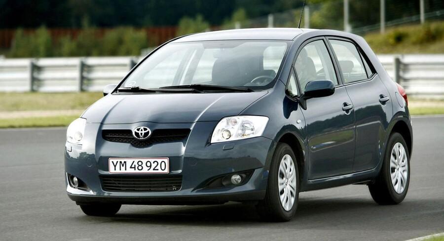 Auris er blandt de modeller, som Toyota indkalder til et tjek af vindueskontakterne.