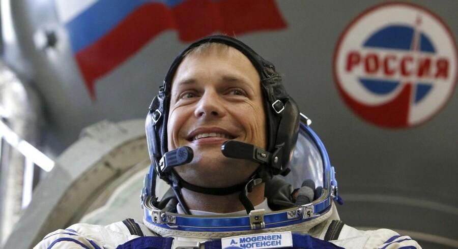 Andreas Mogensen bliver første dansker i rummet. Foto: Sergei Karpukhin/Reuters